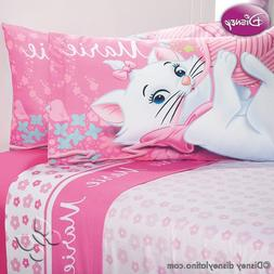 Marie Cat Disney Sheet Set FULL ARISTOCATS Bedroom Decoratio