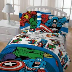 Jay Franco Marvel Comics 'Good Guys' Microfiber 3 Piece Twin