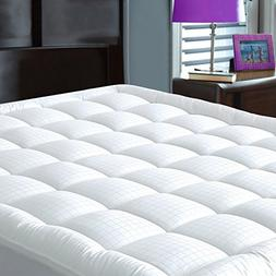 Pillowtop Mattress Pad Cover California King Size - Hypoal