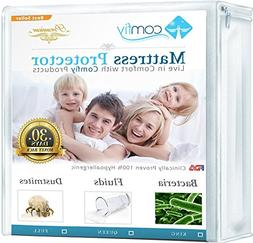 Comfiy Mattress Protector Hypoallergenic Bed Cover against L
