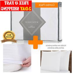 Mattress Waterproof Cover Bed Bedding Sheet Protector Deep P