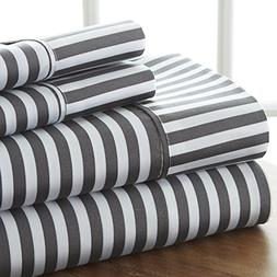 Home Collection Merit Linens 4-piece Premium Ultra Soft Ribb