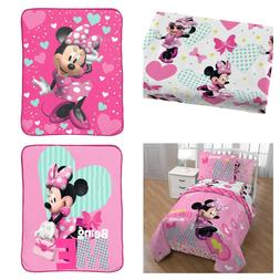 Disney Minnie Mouse Bedding choose Twin Sheets/Comforter Set