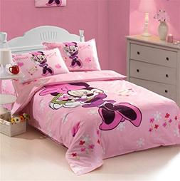 Lisa Choice Minnie Mouse bedding Set Toddler 4 Piece Bedspre