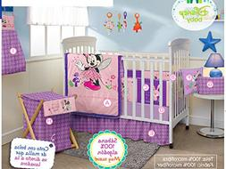 Minnie Mouse Disney Crib Bedding Set Sheets 12PC Comforter B