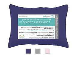 Moisture Wicking Toddler Pillowcase for Sweaty Sleepers - Fi