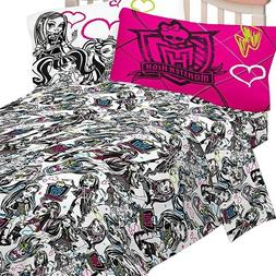 MONSTER HIGH Ghouls Rule FULL SHEET SET - Dolls Black White
