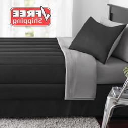 New 6 Piece Navy Twin Size Comforter Set Bedspread Bed in a
