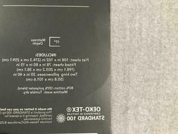 NEW KING Size Solid Gray Flannel Sheets Set 17 inch deep fit