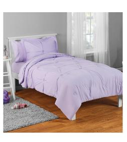 New Lilac Twin Size Comforter Set Girl's Bedding Kid's Sheet