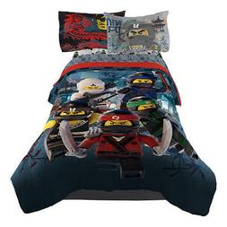 ninjago warriors reversible boys full comforter