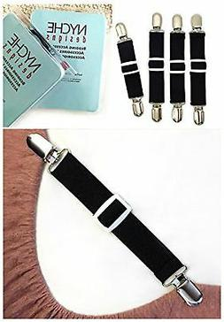 The Nyche Designs Adjustable Bed Sheet Fasteners Suspenders,
