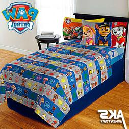 PAW Patrol Bedding Sheet Set Twin & Full Options Soft Microf