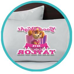Paw Patrol Skye Merch Pillowcase Pillow Sheets Bedroom Bed D
