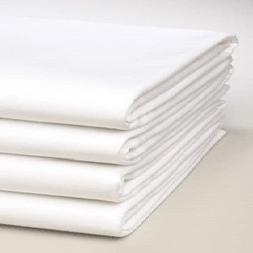 Linteum Textile Percale TWIN FITTED SHEETS 180 Thread Count