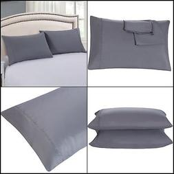 Pillowcases Set of 2 Envelope Closure End 1500 Thread Count