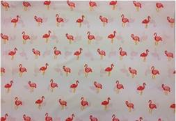 Pink Flamingos  Size STANDARD Boys Girls Kids Bedding