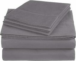 Pinzon 300 Thread Count Ultra Soft Cotton Sheet Set -King, G