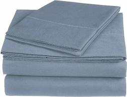 Pinzon 300 Thread Count Ultra Soft Cotton Bed Sheet Set, Twi