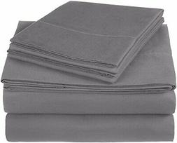 Pinzon 300 Thread Count Ultra Soft Cotton Sheet Set -King Gr
