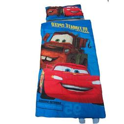 Disney Pixar Cars Slumber Bag and Pillow Set - Sleepover Set