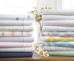 Home Collection Premium Ultra Soft Patterned Bed Sheet Set -