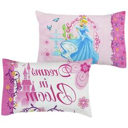 DISNEY Princess CINDERELLA PILLOWCASES - Reversible Dreams B
