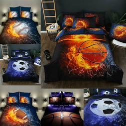 Printed Bed Coverlet Cover Set 2 Pillow Bedspread Sheet Quee