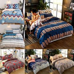Printed Duvet Cover Set Comforter Quilt Cover Bed Cover Bedd
