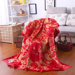 """Pure Mulberry Silk Soft Blanket bed sheet quilt throws 79"""" X"""