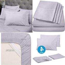 Sweet Home Collection Quality Deep Pocket Bed Sheet Set - 2