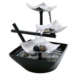 Relaxation Zen Garden Water Fountain Indoor Waterfall Table