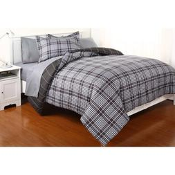 Dovedote Reversible Comforter and Matching Sheet Set for All