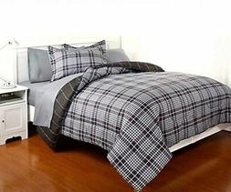Dovedote 7 Piece Reversible Comforter and Matching Sheet Set