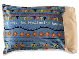 Kid's Travel and Camp Pillowcase - Personalize your RISE AND