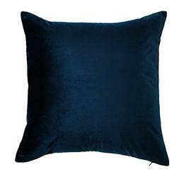 King Rose Decorative Home Solid Velvet Throw Pillowcase Supe