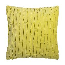King Rose Solid Faux Suede Uneven Decorative Throw Pillowcas