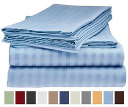 Royal Elegance 1800TC Bed Sheets Set ~ Luxury Wrinkle Resist