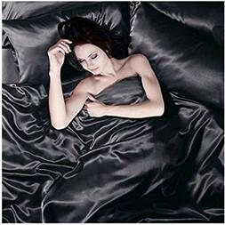 Todd Linens Sexy Satin Sheets 6 Pcs Queen/King Bedding Set 1