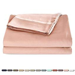 Satin Quality Silky Soft 100% Bamboo-Derived Rayon Bed Sheet