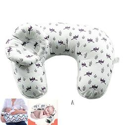 Mosunx 2Pcs/Set Maternity Pillows Baby Breastfeeding Pillow