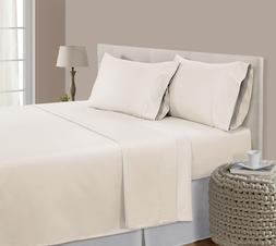 Sheet Set Pima Cotton Ultra Soft California King Bed Home Be