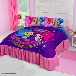 Shimmer and Shine Genies Bedspread Decoration Comforter TWIN