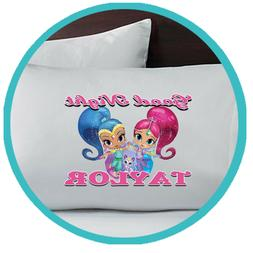 Shimmer and Shine Merch Pillowcase Pillow Case Sheets Bedroo