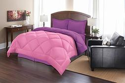 Silky Soft - Goose Down Alternative Reversible 3pc Comforter