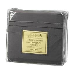 king size dark gray 1500 thread count