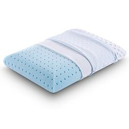 Comfort & Relax Ventilated Memory Foam Bed Pillow with AirCe