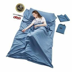 Sleeping Bag Liner Travel Camping Sheet Lightweight Hotel Co
