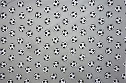Sports Soccer  Size STANDARD Boys Girls Kids Bedding