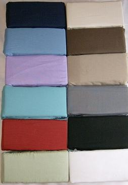 SOFA BED SHEET SET QUEEN & FULL  10 COLORS made in usa